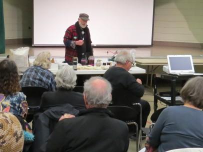 Ken Litchfield presenting