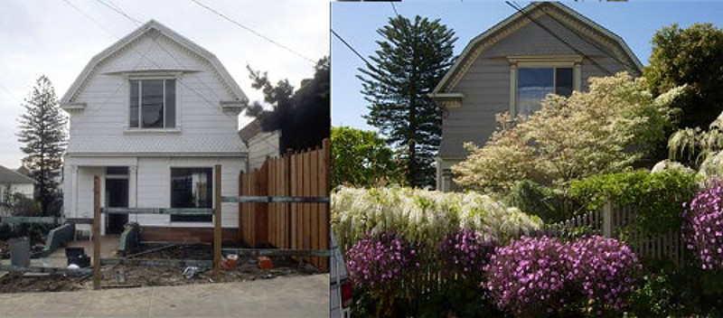 From Yard to Garden in Only Thirty Three Years