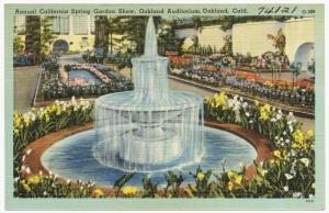 Oakland Spring Garden Show (postcard)