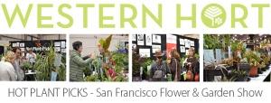 Western Hort logo with SF Flower & Garden Show